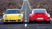 first drive 2005 porsche carrera and carrera s [ 1190 x 661 Pixel ]