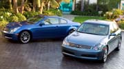 infiniti announces pricing on 2005 g35 sedan and coupe [ 1190 x 661 Pixel ]