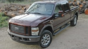 small resolution of tow test 2009 ford f 250 super duty