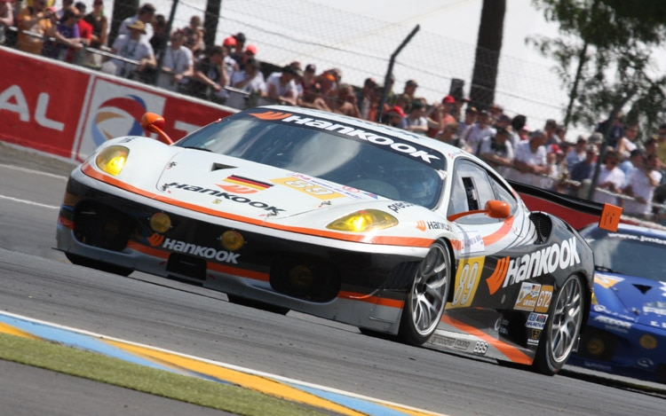 hight resolution of racing with seoul hankook tires takes to the track at le mans