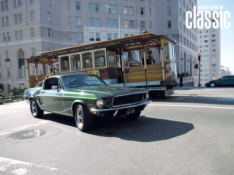 1968 Ford Mustang GT 390 Bullitt Replica Wallpaper Gallery