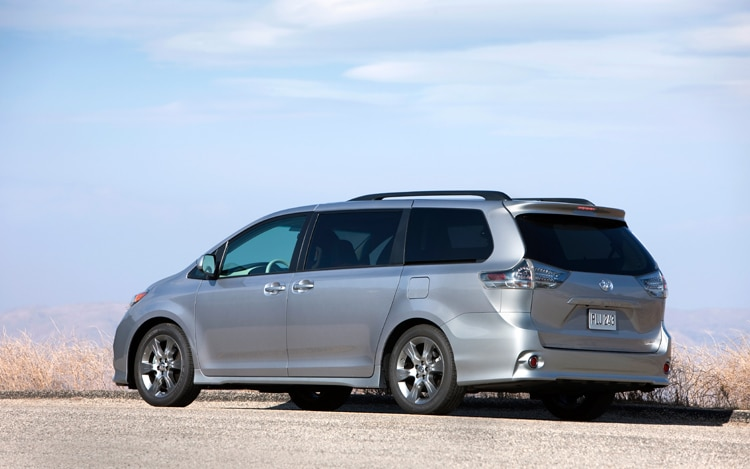2011 Toyota Sienna Recalled For Brakelight Switch Issue