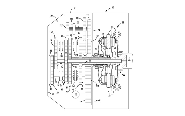 Patent Filing Reveals GM's Work on a Seven-Speed Dual