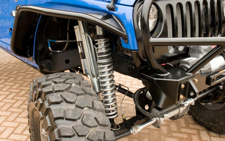 Jeep Wrangler Axle System