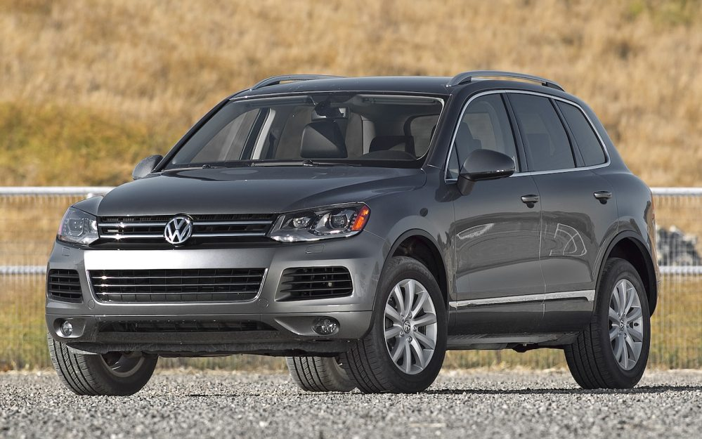 medium resolution of 2011 volkswagen touareg interior