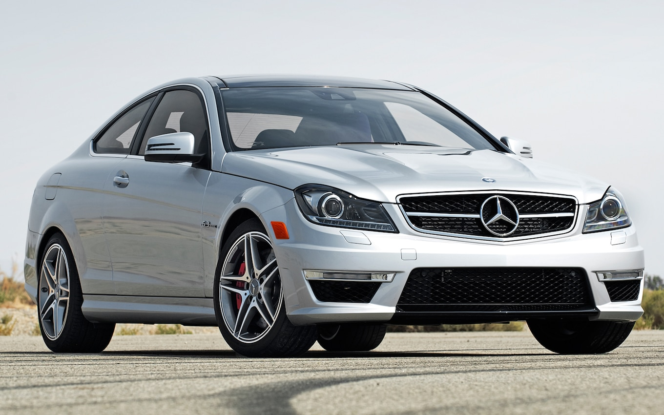 2012 Mercedesbenz C63 Amg Coupe First Test  Motor Trend