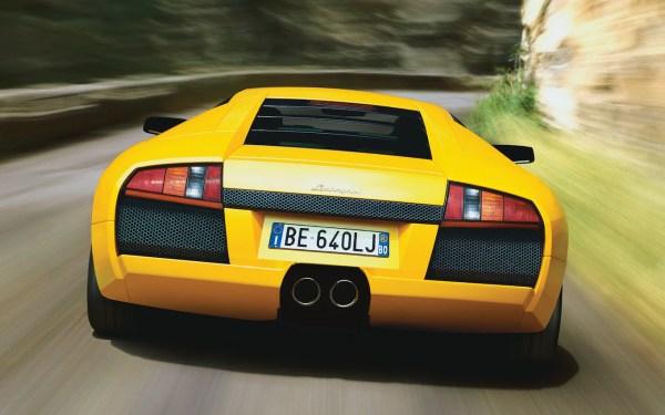 Lamborghini Murcielago Rears Year Of Clean Water