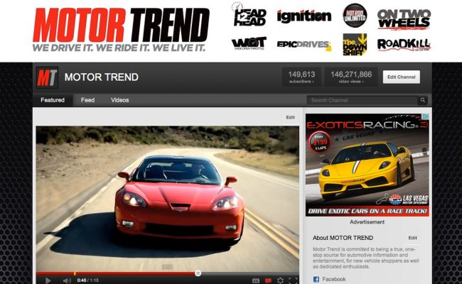 Episode 1 The All New Motor Trend Channel On Youtube