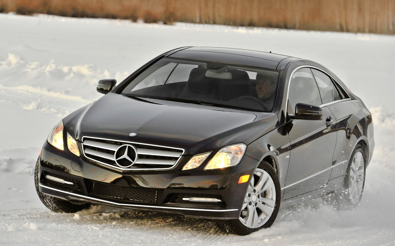mercedes-benz 4matic winter experience