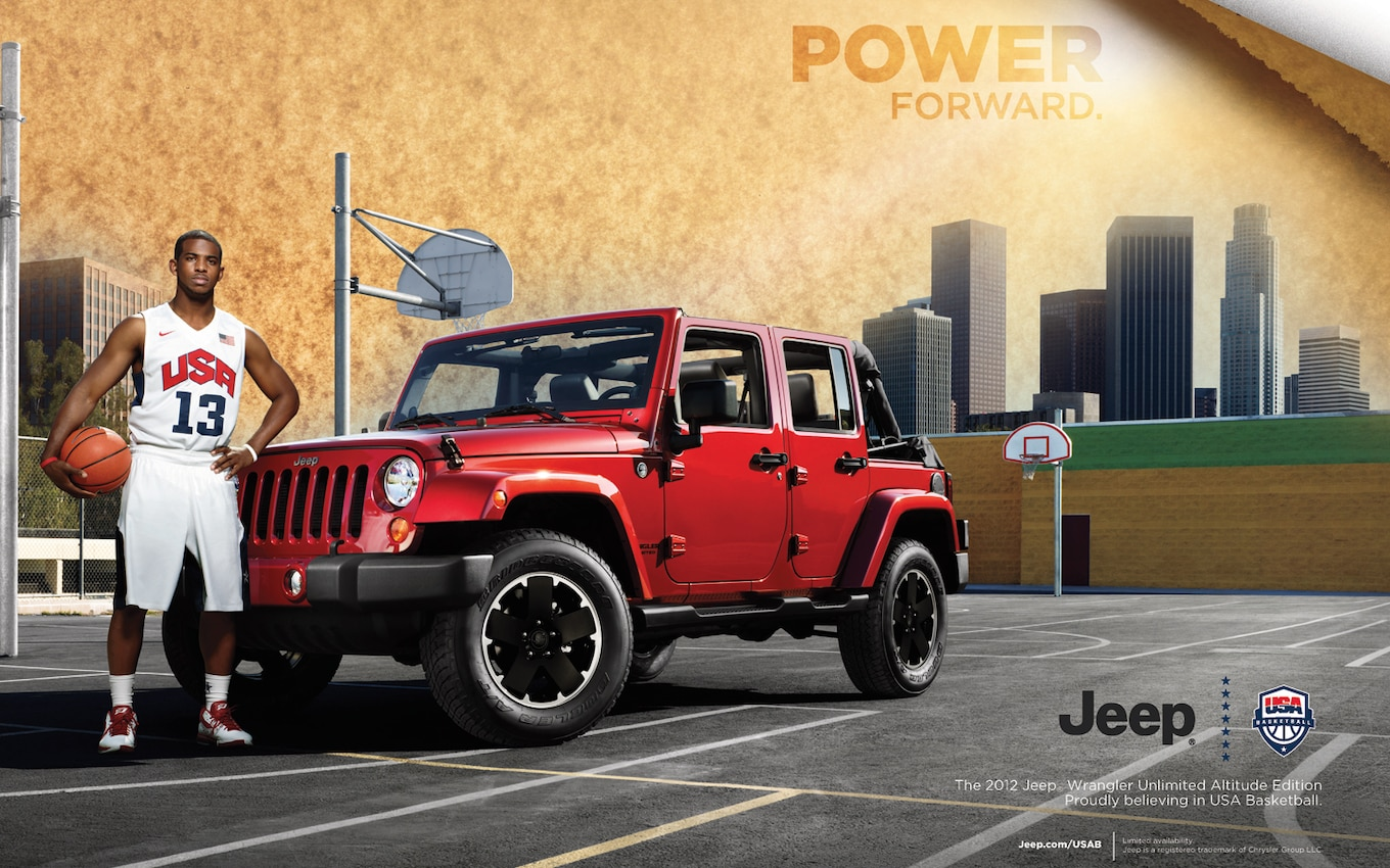 2012 Jeep Wrangler Unlimited Altitude Joins Special
