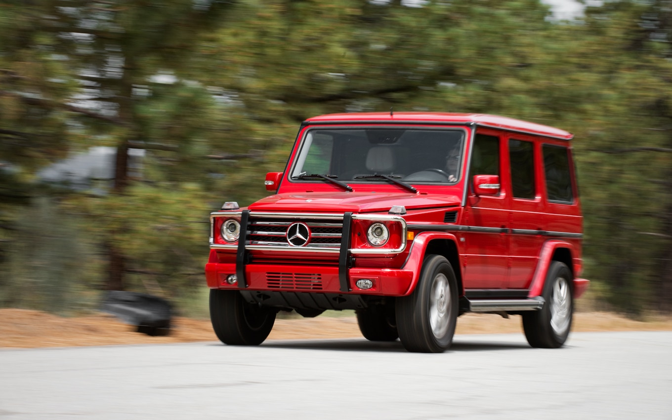 2012 Mercedesbenz Gclass Review And Rating  Motor Trend