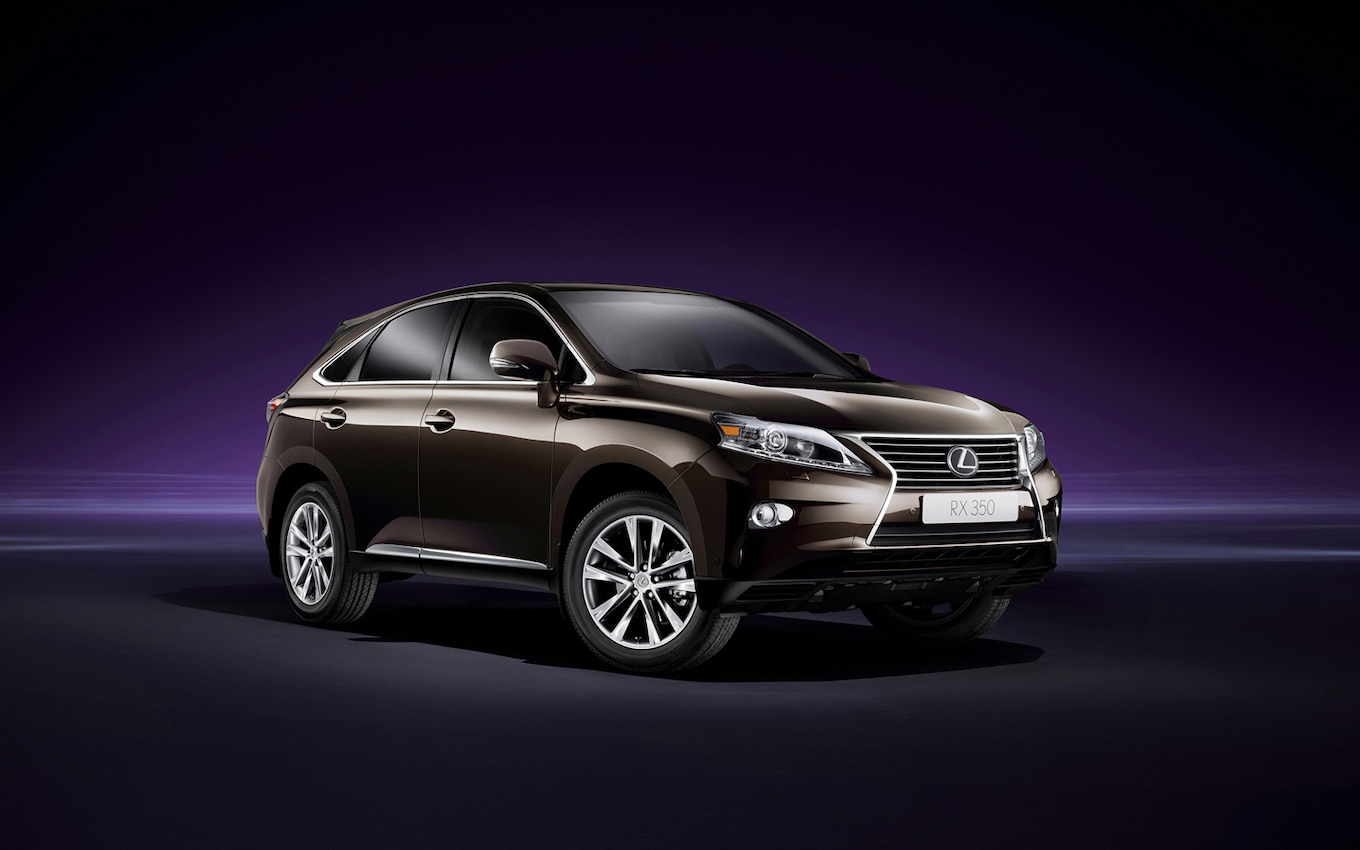 hight resolution of 2013 lexus rx 450h right front 1 updated gm and toyota vehicles dominate lin wiring diagram lexus