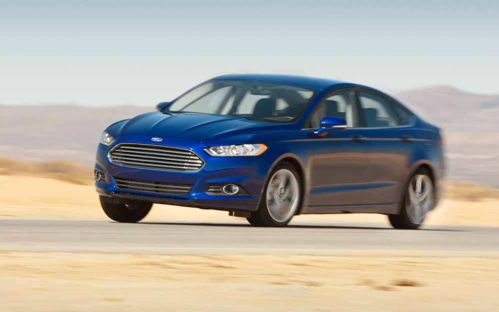 medium resolution of 2013 ford fusion first test motor trend