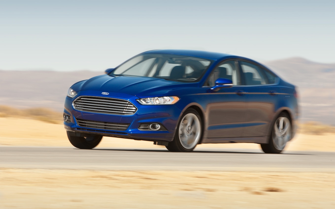 hight resolution of 2013 ford fusion first test motor trend