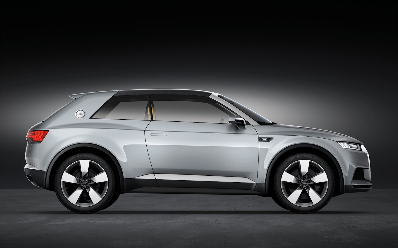 2012 Paris Audi Q2 Previewed With Crosslane Coupe Plug In