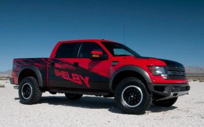 Shelby Raptor Packs 575-HP Supercharged V-8 - 2013 New York