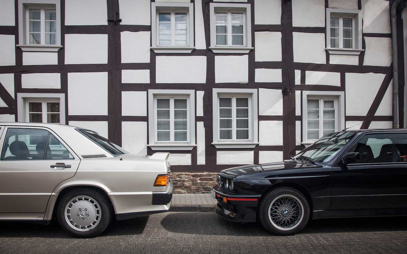 small resolution of mercedes benz 190e 2 3 16 vs bmw m3 motor trend 22 22 engine