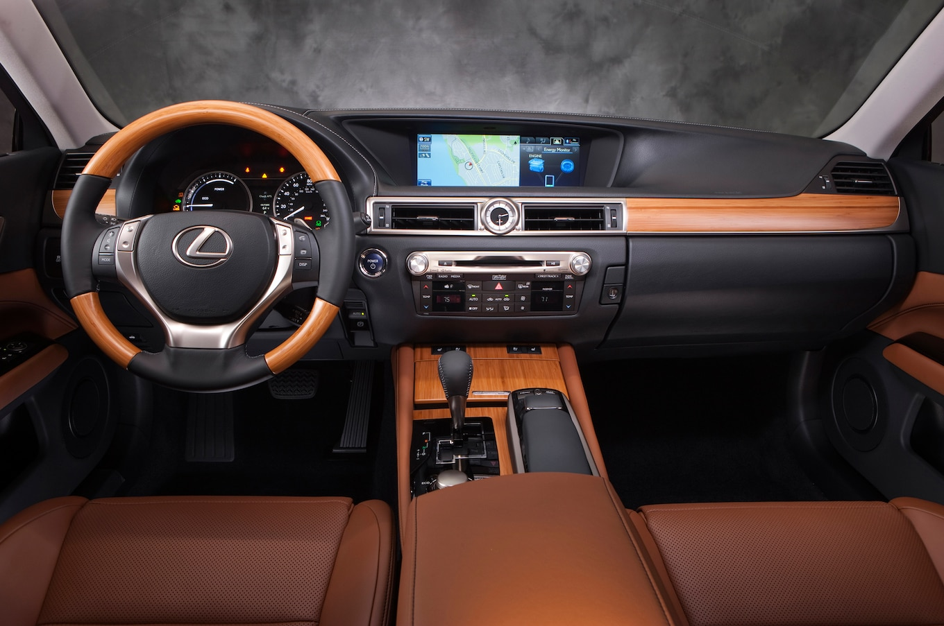 Rear Drive 2014 Lexus GS 350 Gets Eight Speed Automatic
