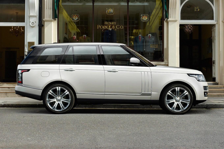 2014 Range Rover Long Wheelbase Debuting at 2013 L A Auto Show