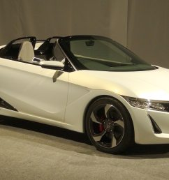 honda s2000 concept honda s660 concept nearly ready for production motor trend [ 1360 x 903 Pixel ]
