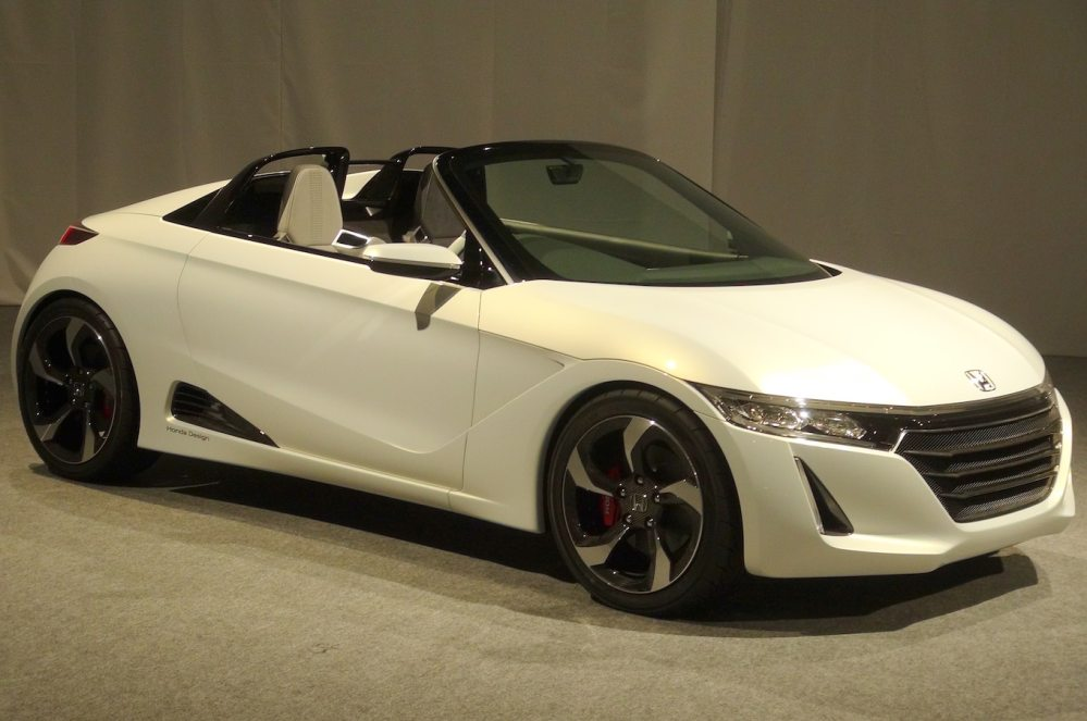 medium resolution of honda s2000 concept honda s660 concept nearly ready for production motor trend