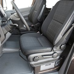 Swivel Chair Mercedes Sprinter Best After Spinal Fusion 2014 Benz 2500 First Test Motor Trend