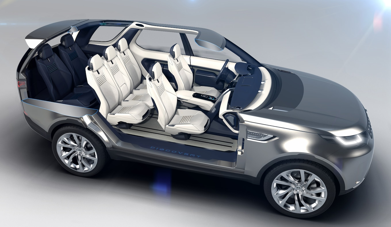 Land Rover Discovery Vision Concept First Look Motor Trend