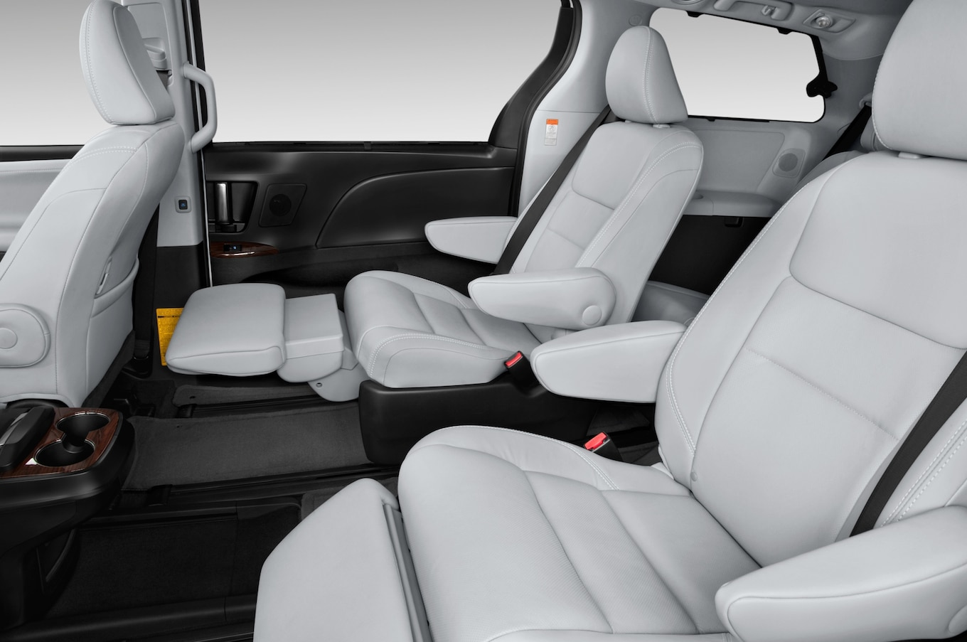 toyota sienna captains chairs removal swivel dining 2015 first look motor trend