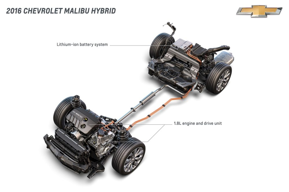 medium resolution of 2016 chevrolet malibu hybrid comes to new york estimated at 45 mpg malibu car engine diagram