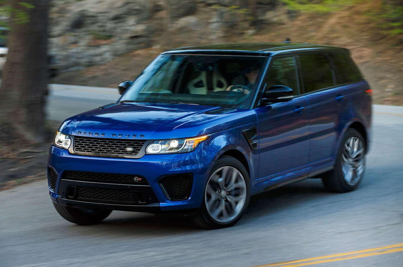 2015 Land Rover Range Rover Sport SVR First Drive Review Motor