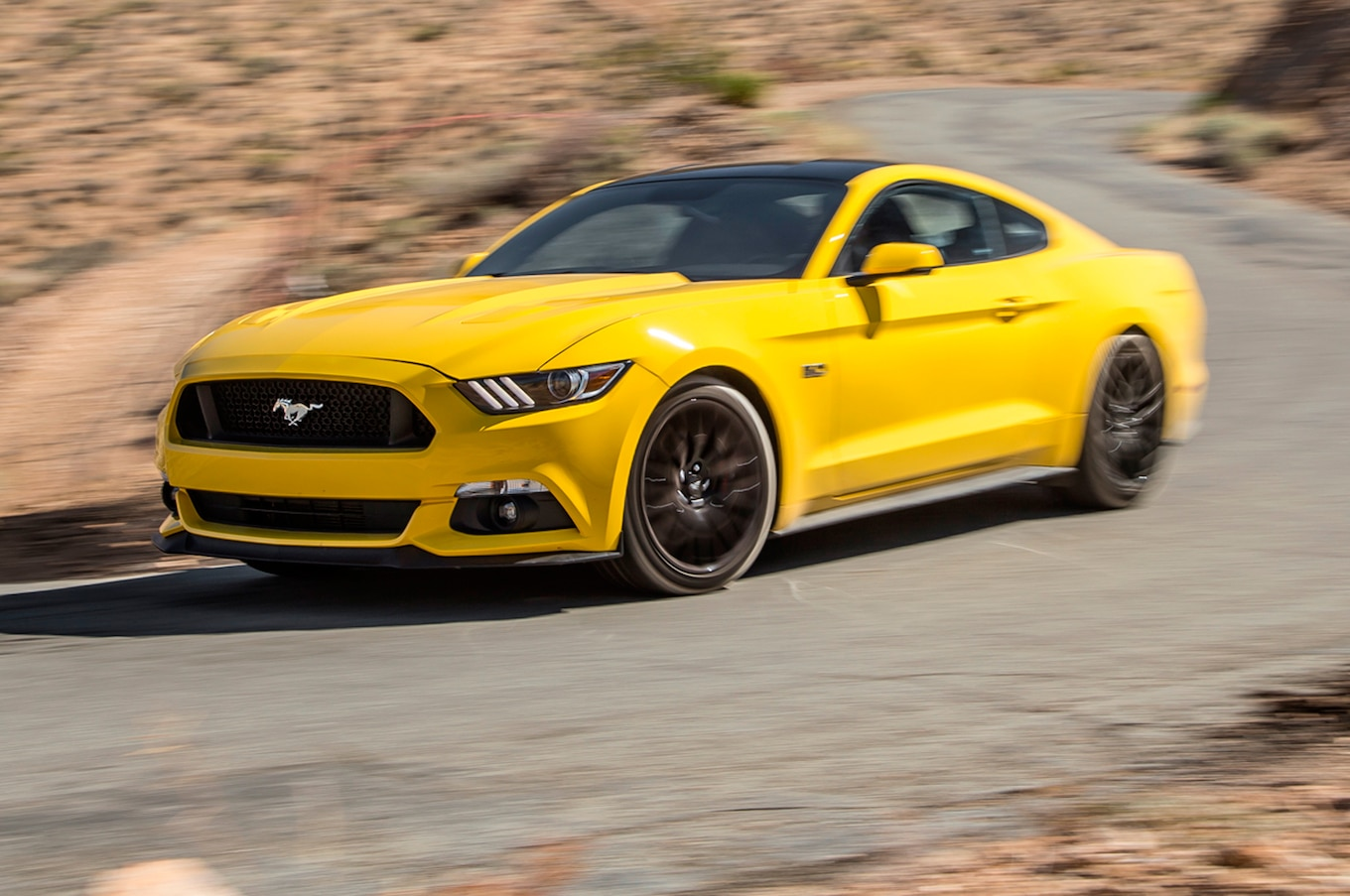 2016 Ford Mustang Gt First Test Review Motortrend