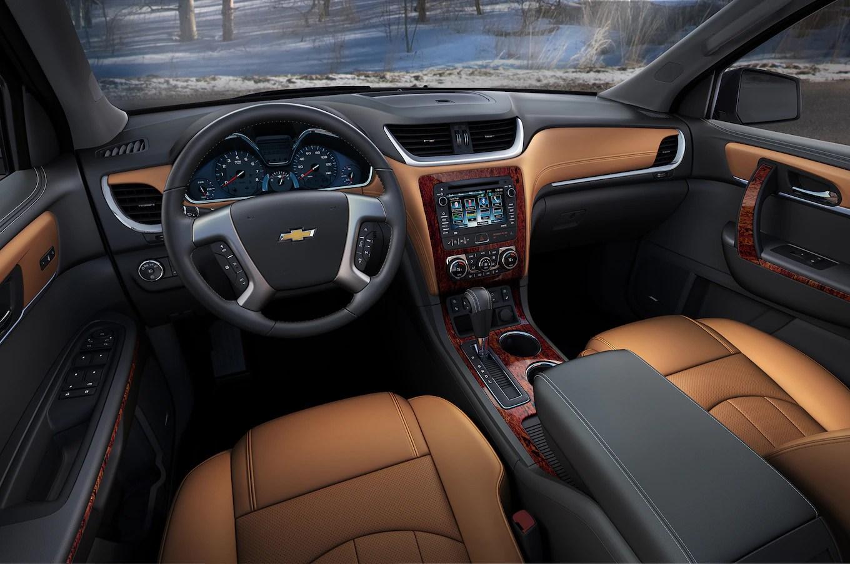 2016 Chevrolet Traverse Ltz Interior Motor Trend