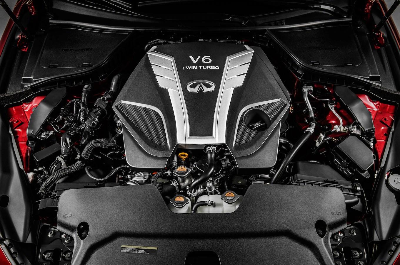 1 8 2016 infiniti q50 v 6 twin turbo engine 02 [ 1190 x 790 Pixel ]