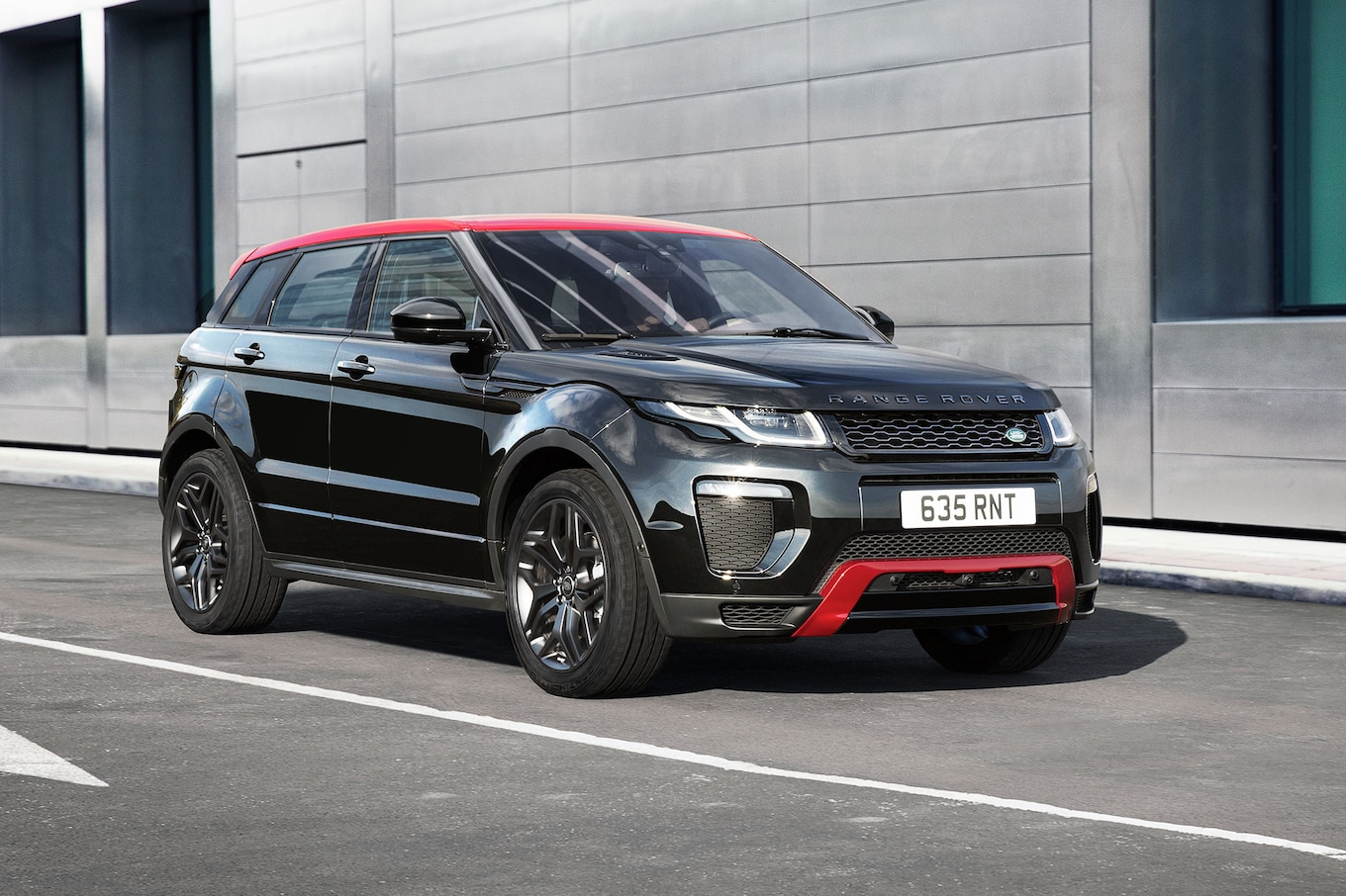 Range Rover Evoque Ember Celebrates Half Million Sales Milestone
