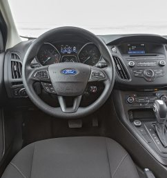 2016 ford focus se ecoboost i 3 first test driving the manual and auto motortrend [ 1360 x 903 Pixel ]