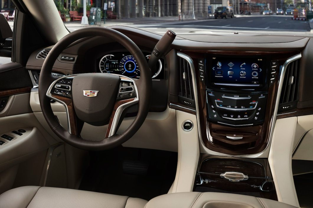 2017 Cadillac Escalade Interior Pictures