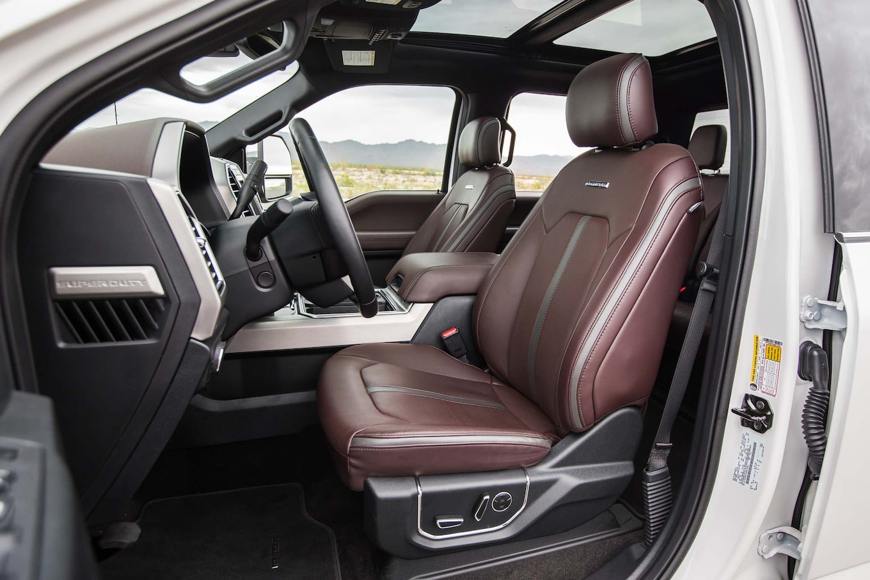Ford F 250 Interior