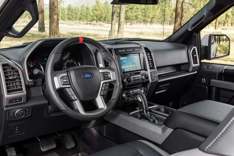 2017 Ford F 150 Raptor interior 1