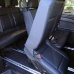2017 Mercedes Benz Metris rear interior seats
