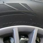 2017 Mercedes Benz Metris tire size