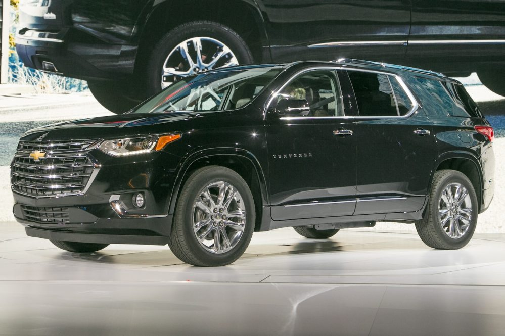 medium resolution of 2018 chevrolet traverse first look going for a truckier look motor trend