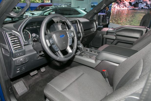 2018 ford f150 interior. beautiful f150 2018 ford f 150 first look 40 fabulous motor trend to ford f150 interior