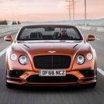 2017 Bentley Continental Supersports convertible front end in motion 05