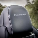 2017 Bentley Continental Supersports convertible headrest