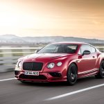 2017 Bentley Continental Supersports front three quarter in motion 05