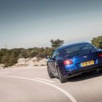 2017 Bentley Continental Supersports rear end in motion 1