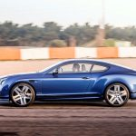 2017 Bentley Continental Supersports side in motion 1