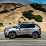 2017 Jeep Compass Limited side in motion