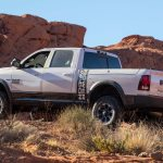 2017 Ram 2500 Power Wagon rear three quarter side profile 1