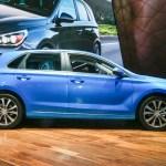 2018 Hyundai Elantra GT hatchback side